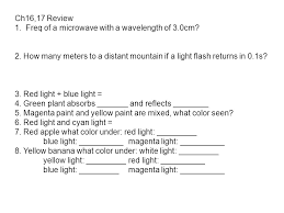 16 1 u2013 light fundamentals visible light is part of a very broad
