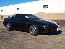 chevrolet camaro 1996 1996 black chevrolet camaro z28 coupe 60111099 photo 2