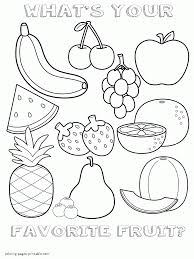 healthy food coloring pages preschool healthy food coloring pages for preschool fruits sheet