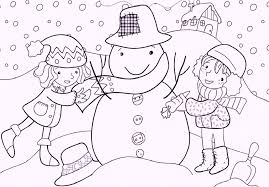 winter games coloring pages coloring pages