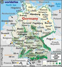 map of germany cities germany map geography of germany map of germany worldatlas