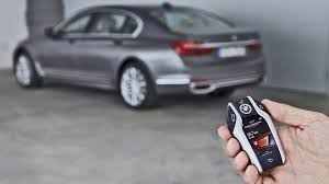 bmw 7 series 2016 remote control parking demonstration youtube