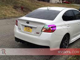 subaru sti 2016 2016 subaru wrx sti with chameleon tinted taillights