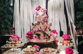 Wedding Cake Display Bohemian Wedding Cakes In Soft Shades Cake Geek Magazine
