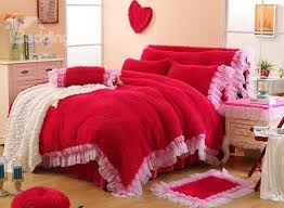 romantic bedding sets hearts and roses bedding u2022 holiday décor