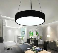 round 40w led ceiling light fixture l bedroom kitchen round pendant led chandelier office modern minimalist fashion study