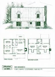 Timber Home Floor Plans Crockett 3 Bed 2 5 Bath 1 5 Stories 2323 Sq Ft Appalachian