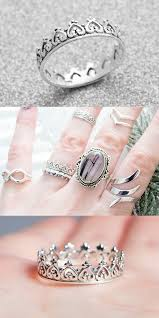 silver pretty rings images The 25 best princess tiara ring ideas rose gold jpg