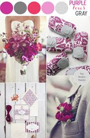 Colors That Go With Pink Best 25 Purple Gray Weddings Ideas On Pinterest Plum Wedding