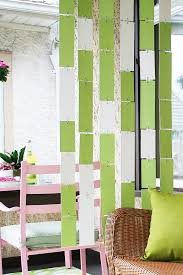 Chain Room Dividers - how to make a hanging divider making it lovely