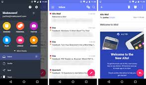 android email 5 excellent email apps for android compared
