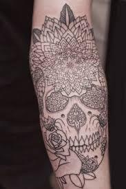 forearm skull tattoos 118 best tattoos images on pinterest mandalas tattoo designs
