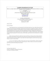 sample nursing recommendation letter 9 examples in word pdf