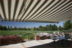 What Are Awnings Made Of Retractable Awnings Patio Awnings St Louis Shade Your World Inc