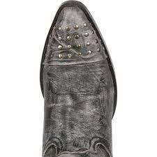 crush by durango women u0027s gray punk studded western boots