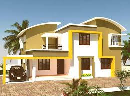 painting ideas for house attractive colour of painting ideas house goodhomez kerala house
