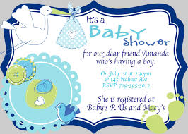 boy baby shower invite wording invitation ideas