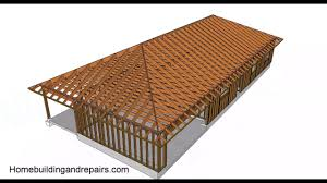 Hip And Valley Roof Design Hip Roof Design And Building Basics U2013 Conventional Framing Youtube