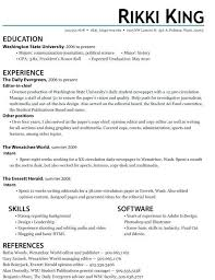 resume exles college students applying internships in washington best resume template for internship student resume sle students