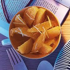 cuisine au gingembre recette salade d oranges au gingembre cuisine madame figaro