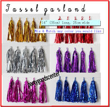 gold foil tissue paper tissue paper tassel garland diy kit gold party decor new years