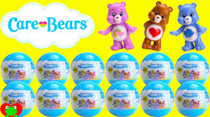 care bears surprise balls mini figures