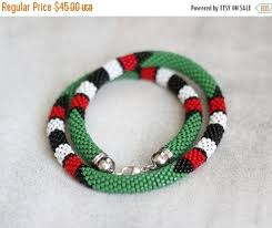 maasai necklace muticolor african necklace african inspired