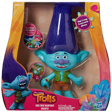 amazon com dreamworks trolls branch hug time harmony figure toys