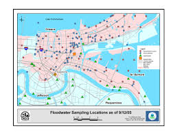 Map Of The French Quarter In New Orleans by Newsroom Response To 2005 Hurricanes Us Epa