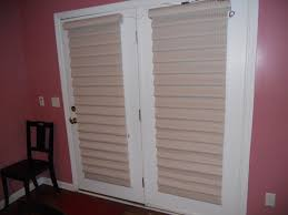 interior design white window with horizontal bali blinds on pink