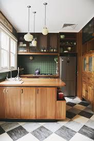 Green Home Kitchen Design Interior Design Retro Melbourne Home Interior Pinterest