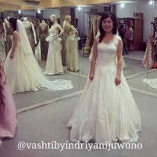 wedding dress kelapa gading vashti by indriyani juwono wedding dress attire in jakarta