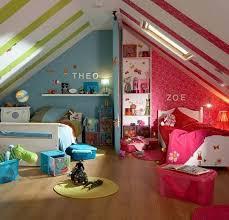 chambre enfant espace chambre d enfants créer deux espaces sous combles rêve de combles