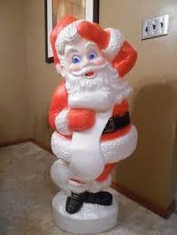 lighted plastic christmas yard decorations christmas blow mold yard decoration 46 santa claus plastic light up