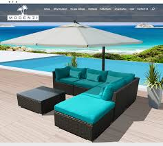 Turquoise Patio Furniture by Modenzi 6pc H Outdoor Patio Furniture Sectional Rattan Wicker Sofa