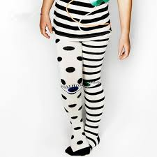 eye pattern tights tiny cotton baby children s striped stocking kids toddler dot eye