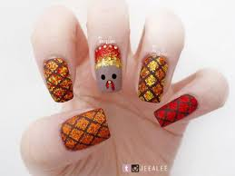 15 easy thanksgiving nail designs ideas 2017 fabulous nail