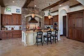 kitchen unique kitchen track lighting ideas with stone wall and