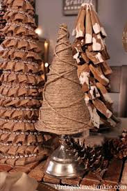 diy rustic christmas garland cheminee website