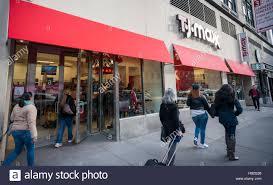 a tjx cos brand t j maxx store in midtown manhattan in york