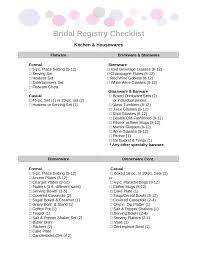 bridal registry checklist printable printable wedding checklist bridal registry checklist edit fill