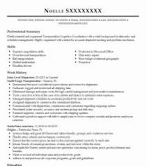 Truck Dispatcher Resume Examples Entry Level Resume Samples 16 Resumes Free Printable Builder