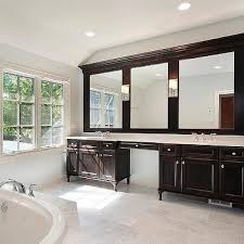 double sink bathroom ideas espresso bathroom vanity design ideas