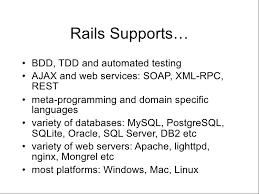 Sample Volunteer Resume by Ruby On Rails Presentation