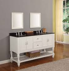 Modern Double Sink Bathroom Vanity by Rustic Double Sink Bathroom Vanity Floating Mirror White Marble