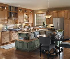 maple wood kitchen cabinets maple wood cabinets in casual kitchen