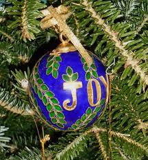 christmas ornament forest garden