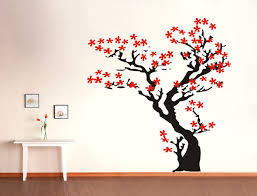 Cherry Blossom Wall Decal For Nursery Cherry Blossom Wall Decal Tree Wall Decal Nursery Wall Wall