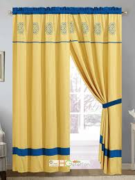 Yellow And Blue Curtains Yellow Gold Curtains