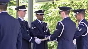 Military Funeral Flag Presentation 2013 06 28 Arlo D Rockney Military Honor Funeral At Tahoma